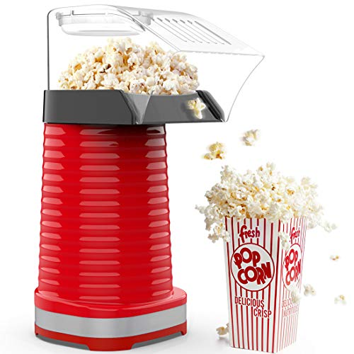 Why Should You Buy Hot Air Popcorn Popper, 1200W Electric Popcorn Maker, Household Popcorn Machine f...
