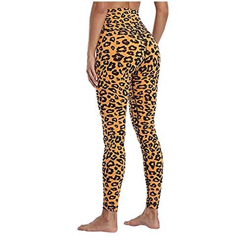 Pantalones Yoga para Levantar Cadera Mujer Pantalones de Chándal Polainas Leggings Pantalones Deportivos Mallas de Deporte para Running Pantalones de Yoga Alta Cintura