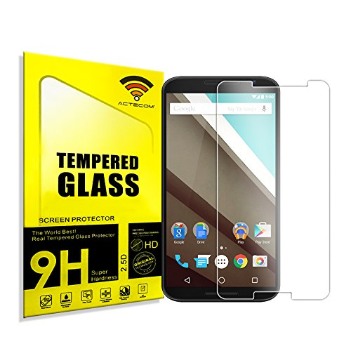cogac Cristal Templado Protector Pantalla 0.2MM para Motorola Google Nexus 6