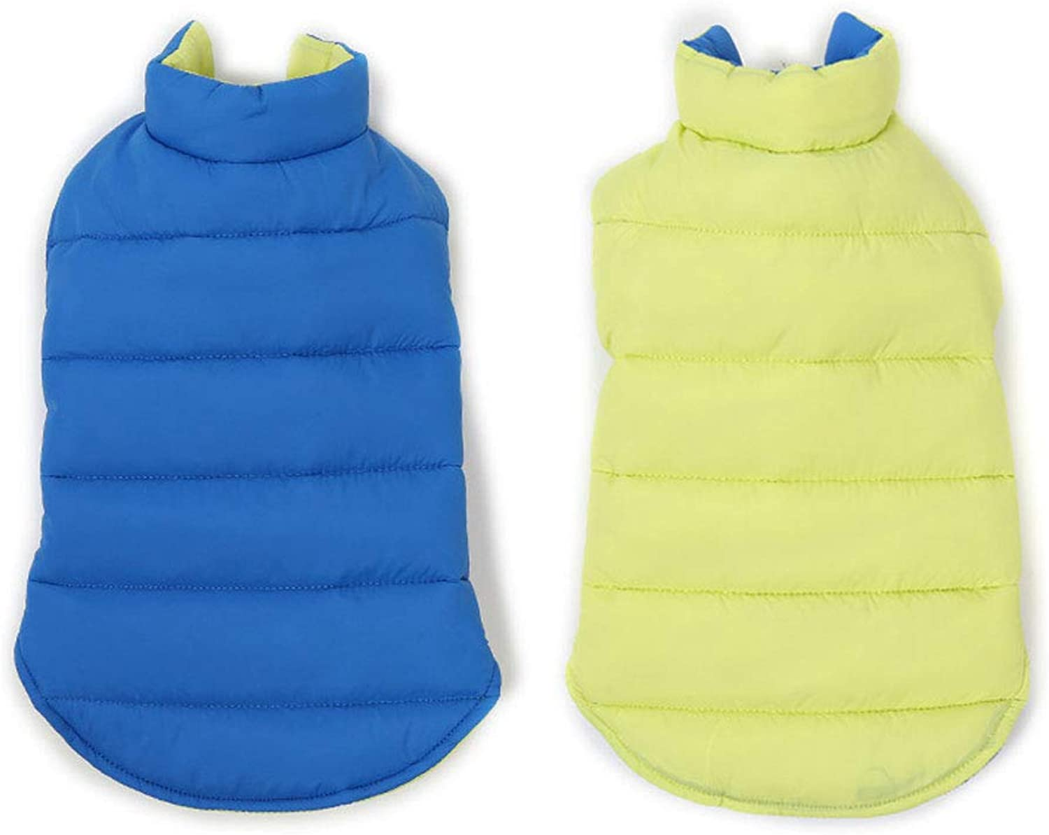 Big Dog Clothes Winter wear Reflective wear DoubleSided Waterproof Dog Cotton Clothes Vest
