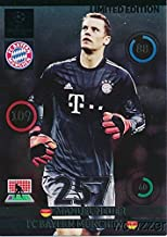 2015 Panini Adrenalyn Champions League Update EXCLUSIVE Manuel Neuer Limited Edition MINT! Rare Card Imported from Europe ! Shipped in Ultra Pro Top Loader to Protect it!
