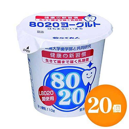 【四国乳業】8020ヨーグルト 110g×20個