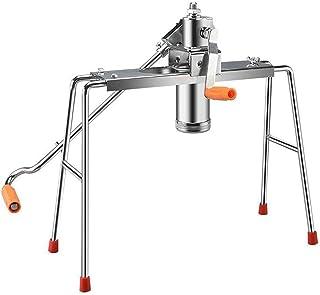 Noodle making machine Manual pasta maker Cooking utensils Home-use hand-held noodle machine v (9 noodle molds) Soba/udon/r...