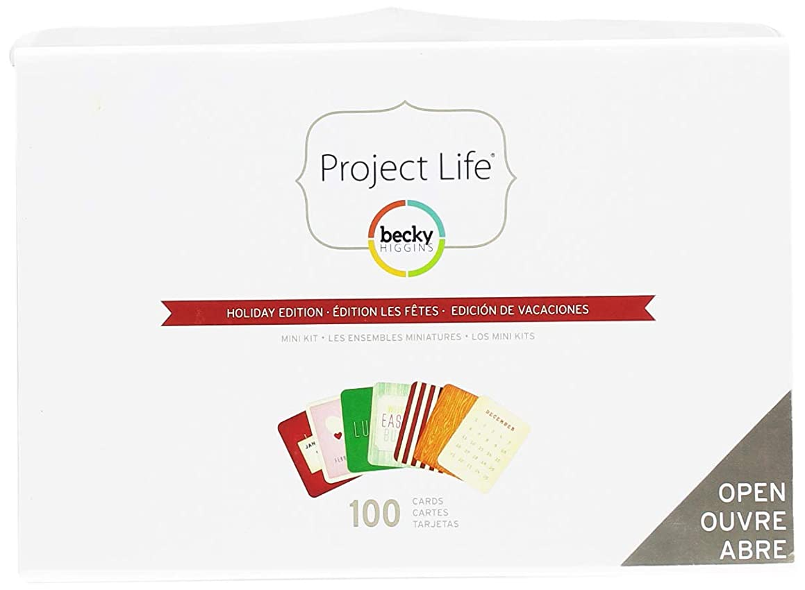 Project Life by Becky Higgins Holiday Mini Kit