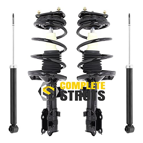 Front Quick Complete Struts & Rear Bare Shock Absorbers Compatible ...