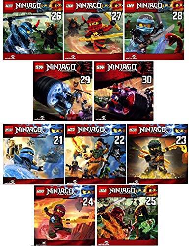 Lego Ninjago - Hörspiel CD 21 - 30 im Set - Deutsche Originalware [10 CDs]