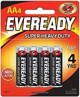 Eveready 1215-4 AA Carbon Zinc Batteries - 4 Pieces