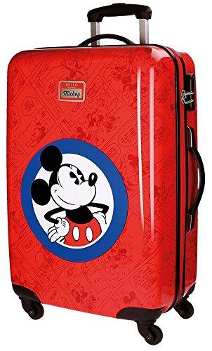 Disney Hello Mickey kinderbagage, 68 cm, 62 liter, rood (Rojo)