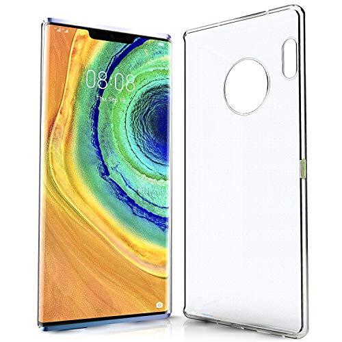 N NEWTOP Cover Compatibile per Huawei Mate 30 PRO, Custodia TPU Clear Gel Silicone Trasparente Slim Sottile Flessibile Case Posteriore Protettiva (per Mate 30 PRO)