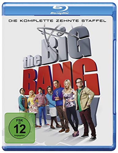 Cover The Big Bang Theory: Die komplette 10. Staffel [Blu-ray]