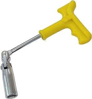 Plata Pudincoco 14MM Mini enchufe de buj/ía Retire la llave Herramienta de extracci/ón magn/ética de 12 puntos de pared delgada Unidad de 3//8 de pulgada para BMW Mini BI415