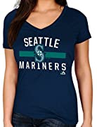 Officially licensed MLB product 100% Lightweight Cotton - Machine Washable Inside out Super soft cotton for greater fit and comfort High quality screen printed graphics at front Slimmer fit and feminine shape - Please order 1 or 2 sizes up if looser ...