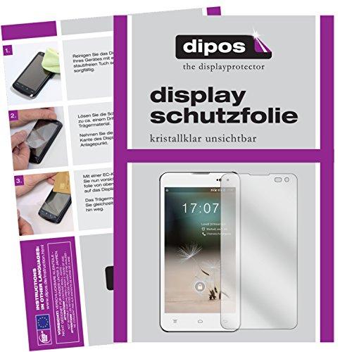 dipos I 6X Schutzfolie klar kompatibel mit Hisense HS-U971AE Folie Bildschirmschutzfolie