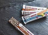 Convenient Nutrition Keto WheyFer Protein Snack Bars I Low Carb, Low Sugar, Ketogenic I Variety Pack 10 Count I Vanilla Cream, Cocoa Cream & Coffee Cream Flavors