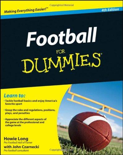 Football For Dummies 4E
