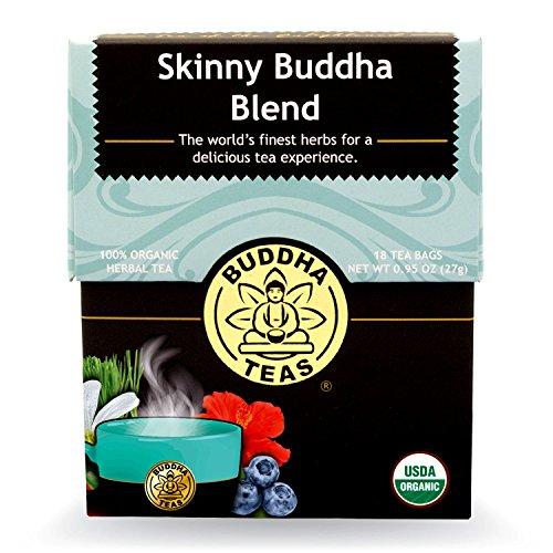 Buddha Teas Skinny Buddha Blend, 18 Count (Pack of 6)