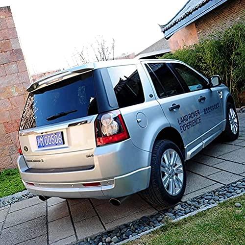 MJCDNB Alerón Trasero ABS para Land Rover Freelander 2 2007-2015, Parachoques de Coche, Maletero, Techo, Puerta Trasera, Tapa del Maletero, Ventana, Labio, Parabrisas, ala, Accesorios de Estilo