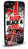Texas Tech Red Raiders Cell Phone Hard Plastic Case for iPhone 6 (4.7 inch) by VibrantCreations