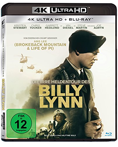 Die irre Heldentour des Billy Lynn (4K Ultra HD) [+ Blu-ray]