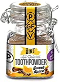 The Dirt All Natural Tooth Powder - Gluten & Fluoride Free Organic Teeth Whitening Powder with...