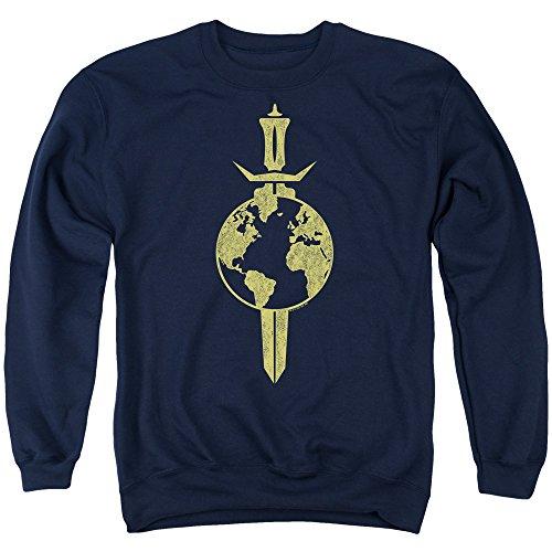 Star Trek - - Terran Empire Sweater für Männer, Large, Navy
