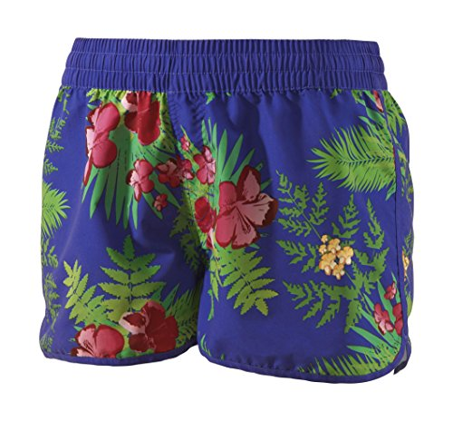 Beco Damen College 12 Hawaii Badeshorts, blau, L