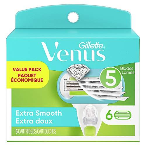 Amazon: 6 ct. Venus Extra Smooth Women's Razor Blade Refills $16.06 + FS w/ Prime $16.05