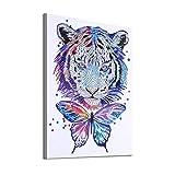Pintura de diamantes DIY 5D, Diamantes de imitación de cristal Pinturas Pinturas Imágenes Artesanía para la decoración de la pared del hogar, Punto de cruz Decoración del hogar Diamante en forma espe
