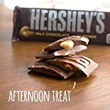 HERSHEY'S Milk Chocolate with Almonds Candy Bars, 1.45-oz. Bars, 36 Count