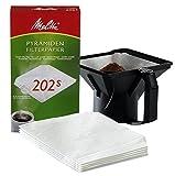 Melitta Pyramidenfiltertüten für die Gastronomie-Maschine