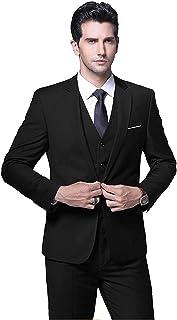 House of Sensation Men's Latest Coat Pant Style Business Wedding Suit 3 Pieces Suit/Men's Suits Blazers Trousers Pants Ves...