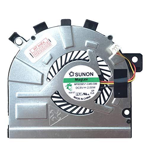 Lüfter/Kühler Fan kompatibel mit Toshiba Satellite M50-A-10H, M50-A-11Q, M50D-A-118, M50-A-10E, M50-A-11M, M50D-A-10Z, M50-A-116, M50D-A-10D, M50DT-A-106