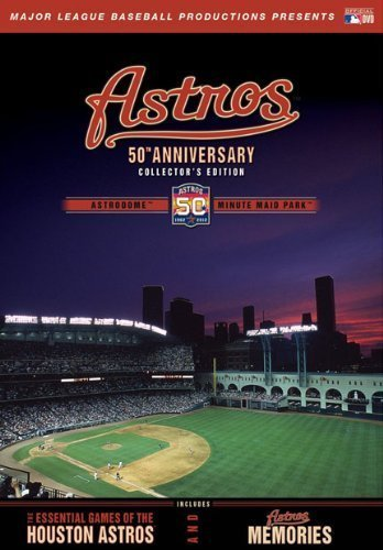 Houston Astros 50th Anniversary Collector s Edition by A&E HOME VIDEO by Major League Baseball