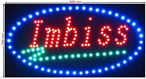 """LED Schild XXXL /""""PIZZA PIZZAOFEN/"""" Werbeschild Leuchtreklame Neon Hinweisschild"""