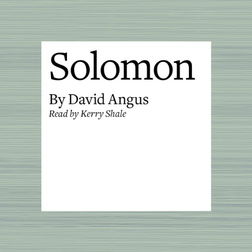 Solomon audiobook cover art