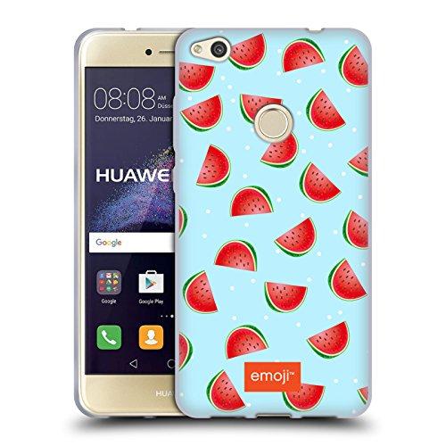 Head Case Designs Oficial Emoji Sandías Frutas Carcasa de Gel de Silicona Compatible con Huawei P8 Lite (2017)