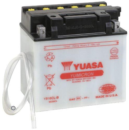 Yuasa YUAM2S6CL YB16CL-B Battery , Black