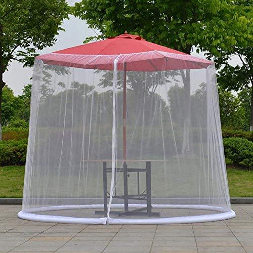 Tragbare Sonnenschirmabdeckung,Moskitonetz Bett Baldachin Garn OutdoorMoskitonetz für Gartentisch Bett Garn Bett Mantel