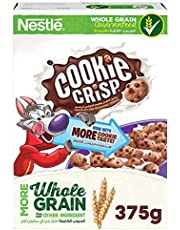 Nestle Cookie Crisp Chocolate Chip Breakfast Cereal - 375 gm (Brown)