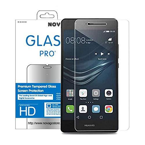 Huawei P9 Lite - NOVAGO Pellicola Proteggi-schermo in Vetro Temperato