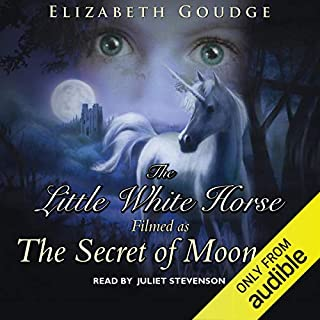 The Little White Horse                   By:                                                                                                                                 Elizabeth Goudge                               Narrated by:                                                                                                                                 Juliet Stevenson                      Length: 2 hrs and 26 mins     35 ratings     Overall 4.3
