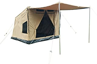 Dream House Heavy Duty Aluminum Frame Quick Open Waterproof Family Camping Lodge Tent with Awning