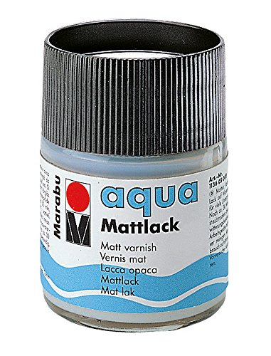 Marabu 113605000 Mattlack, transparent