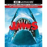 Jaws 45th Anniversary 4K Ultra HD + Blu-ray