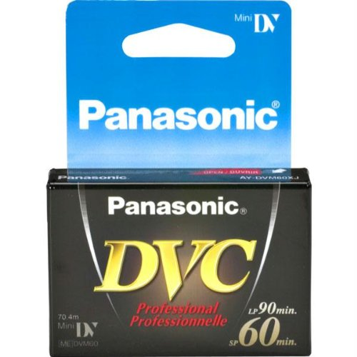 Review PANASONIC DVM-60XJ1 Professional Quality Mini Digital Videocassettes