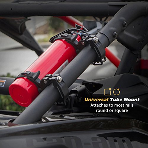 SCOSCHE PSM11004 TerraClamp Heavy Duty Fire Extinguisher and BoomBottle Universal Vehicle Mount, Large (Pack of 2)