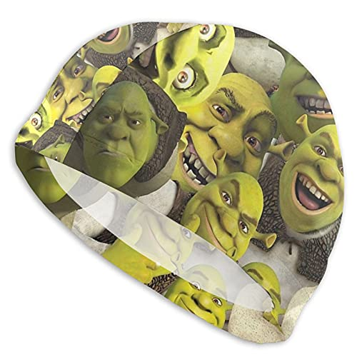 Shrek - Gorro de natación para mujer, hombre, pelo largo,...