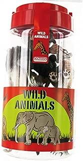 Comansi - Tubo con Animales Salvajes, playset (C97006)
