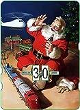 Calendario perpetuo vintage CocaCola 'Santa Claus & Train'