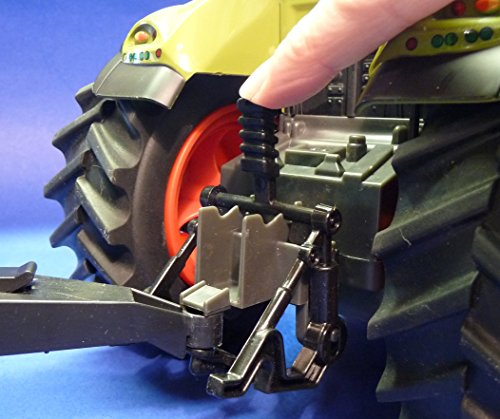 RC Auto kaufen Traktor Bild 5: WIM-SHOP RC Traktor CLAAS Axion 870 Anhänger in XL Länge 72cm Ferngesteuert*